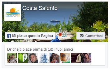 Pagina Facebook Costa Salento